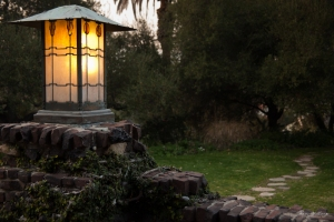 Lantern at the Gamble House in Pasadena